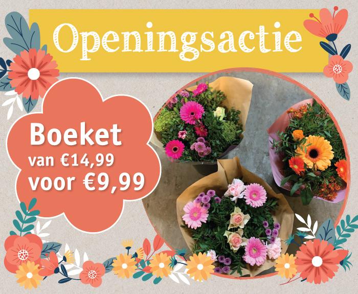 Bloemen Openingsactie